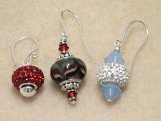 How to Make Earrings Using Pandora Style Beads