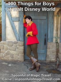 Fantastic list of 100 things for boys to do @ Disney World