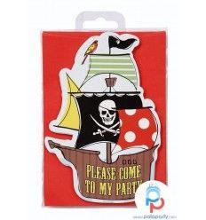 inviti festa Pirati