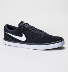 promo code bd78e 4d156 Nike Check Solar Black-White Trainers, Solar, Black White, Black And White