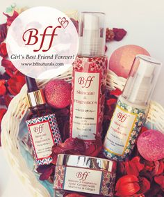 Bff Skincare & Fragrances (Girl's Best friend forever!) A Truly Natural Range of Personal Care products Enriched with SUPER FOODS, Based on Home Based Recipes and Made with rich creamy Butters & blended with Natural Floral Fragrances.
