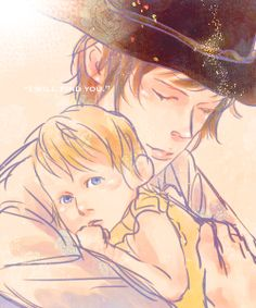 """The Walking Dead - Carl and Judith Grimes """"I will find you."""" OMGAWSH AHHH SO FUDGING ADORABLE"""