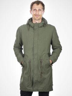 Kilsby Dark Green Coat by Minimum