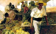 Joaquin Sorolla Y Bastida Preparing Raisins hand painted oil painting reproduction on canvas by artist Spanish Painters, Art Painting, Spanish Artists, Figure Painting, Painter, Artist, Painting, Oil Painting, Visual Art