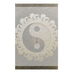 Yin Yang with Tree of Life by Amelia Carrie Personalized Stationery