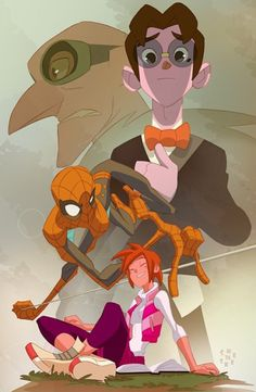 "Spider-Man by by Sean ""Cheeks"" Galloway *"