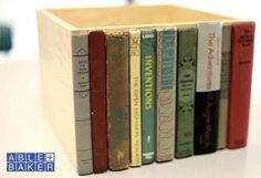 16 Recycled and Repurposed Books