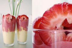 Raw Vegan Recipes: Pineapple Strawberry Parfait