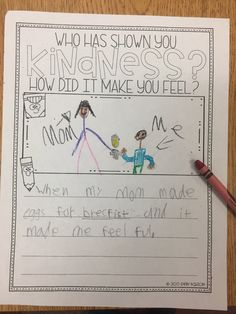 A classroom guidance lesson on Kindness Elementary School Counseling, School Social Work, School Counselor, Elementary Schools, Elementary Teaching, Social Emotional Learning, Social Skills, Guidance Lessons, Character Education