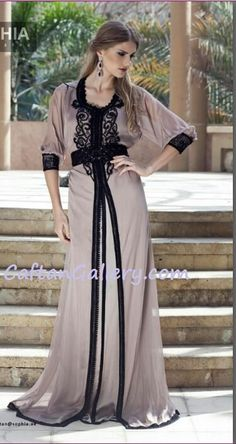 Simple Chic! fati hasim · caftan 7ba20a2c541