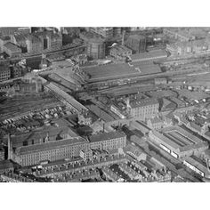 Aerial view of London Road Nottingham City, Derbyshire, Present Day, Aerial View, Historical Photos, Old Photos, Paris Skyline, United Kingdom, City Photo