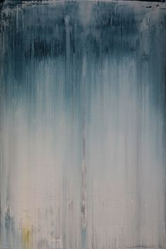 "Saatchi Art Artist: Koen Lybaert; Oil 2013 Painting ""abstract N° 664 [rain]"""