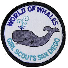 GSSD WORLD OF WHALES PATCH-badge requirements are included with order