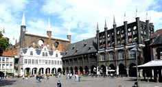 Lubeck, Germany...where I used to chase the pigeons!