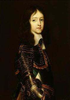 Abraham Raguineau, portrait of prince William III of Orange, ca. 1661, Frans Halsmuseum Haarlem
