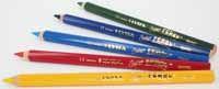 Lyra Super Ferby Kleurpotloden  Super Ferby kleurpotloden zijn vervaardigd van  gelakte massief beukenhout met extra dikke  kleurstift 6.25 mm. dik en 3kantige grip. Deze zeer goede kleurpotloden zijn breukvast,  watervast en hebben een hoge kleurintensiteit. Leverbaar in 23 gewone kleuren, 7 fluorkleuren  en 12 metallic kleuren.