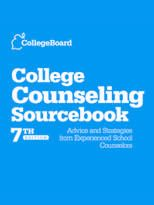 College Board put together a great college counseling guide, a must have for all high school counselors!