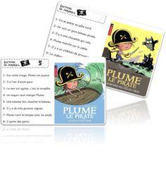 Atelier Lecture de phrases - Les Pirates