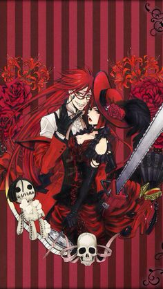 Grell and Madame Red , red is the color of passion , love , and rage .
