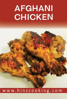In love with Afghan cuisine then try this 'Afghani chicken recipe' at home easy and quick to prepare. Watch video recipe how to make afghani chicken. Pakistani Rice Recipes, Pakistani Chicken Recipes, Pakistani Dishes, Indian Food Recipes, Chicken Recipes At Home, Chicken Snacks, Fried Chicken Recipes, Recipe Chicken, Afghan Food Recipes