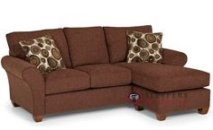 The Stanton 320 Chaise Sectional Sleeper Sofa (Queen) At Sleepers In  Seattle. $1,669.00