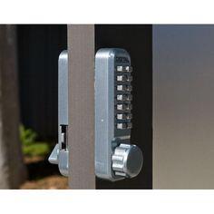 The Lockey 2900 Keyless Lock Is A Narrow Stile Deadbolt