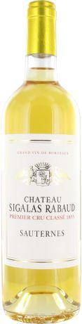 Château Sigalas Rabaud 1er Cru Classé de Sauternes blanc 2011 - Sauternes - 17/20 : Beau vin botrytisé, raffiné et élégant, belle longueur, persistant, équilibré.  En savoir plus : http://avis-vin.lefigaro.fr/vins-champagne/bordeaux/sauternais/sauternes/d15235-chateau-sigalas-rabaud/v15236-chateau-sigalas-rabaud/vin-blanc/2011#ixzz36UBvFFYO