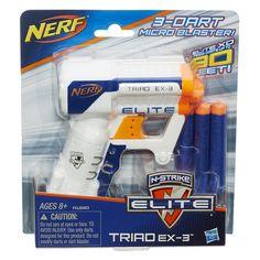 Bundle: Nerf N strike Elite Triad Ex 3 Blaster Pack of N strike Elite Darts). Nerf Toys, Nerf Games, Party Expert, Halloween Items, Halloween Accessories, Control, Educational Toys, Cool Things To Buy, Ebay
