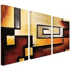 Art Wall Abstract Modern Gallery Wrapped Canvas Art by Jim Morana. Sale Price: $159.99 #Art #AbstractPaintings