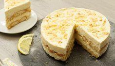 No-bake limoncello tiramisu taart Dutch Recipes, Sweet Recipes, Cake Recipes, Dessert Recipes, Tiramisu Limoncello, Tiramisu Cake, Cake Cookies, Cupcake Cakes, Baking Bad