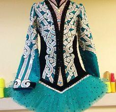 Celtic Star irish dance dress