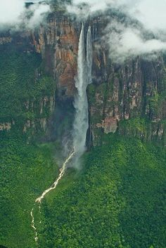 Angel Falls, Venezuela -- reminds me of Up!