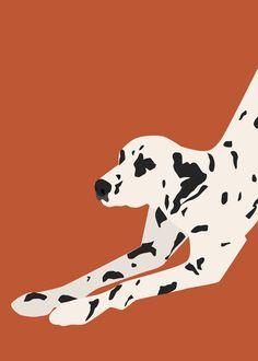 Kathy Kim is an illustrator based in New York City. Dog Illustration, Digital Illustration, Arte Latina, Posca Art, Dog Art, Dog Pop Art, Grafik Design, Art Inspo, Illustrations And Posters