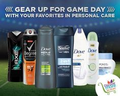 Find your winning line up of personal care products at #Publix in time for game day. Visit the Discover More In Store Page for great savings, helpful how-to's and #tips!