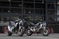 Honda CB1000R CB300R Dan CB125R Hadir Dalam Desain Baru New Sport Cafe