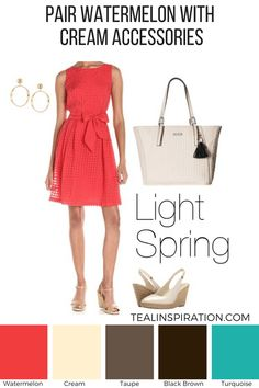 How to Wear Red if You're a Light Spring