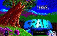 Sram (CPC) - My first adventure game!