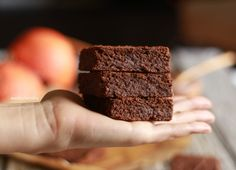 Brownies de cacau e abóbora - Made by Choices