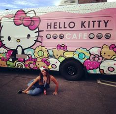 Alison, a client at The Bar Method San Diego, did pretzel while attending the Hello Kitty Convention in LA. We love her enthusiasm! #WhereDoYouBar?