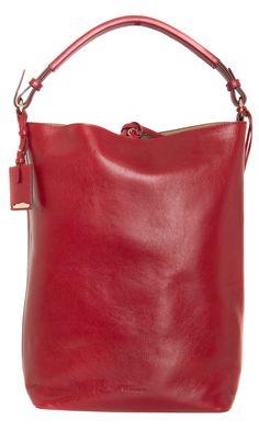 Jil Sander Leather Satchel #fashionsale 50% off € 615,00  http://www.myoutfit.it/Details/details.jsf?cod_prod=IW854058572NICHOLLS