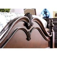 Wood Bed Design, Bedroom Bed Design, Bedroom Sets, Bedrooms, Bedroom Doors, Bedroom Furniture Stores, Bed Furniture, Royal Furniture, Italian Furniture