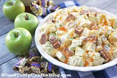 Snickers Caramel Apple Salad - Recipe