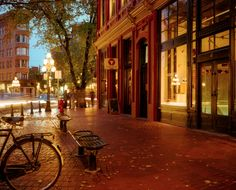Historic #Gastown in downtown #Vancouver #Canada is also a hub for hip boutiques, new media and tech companies, and a thriving nightlife culture.