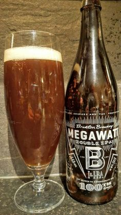 Brixton Brewery Megawatt Double IPA. Watch the video beer review here…