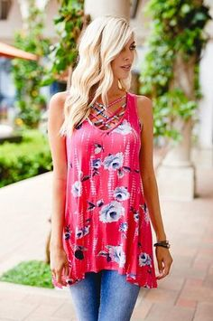 Find A Way Floral Top - Anchored Hope Boutique