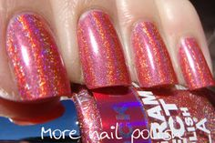 Layla Hologram Effects Shocking Pink