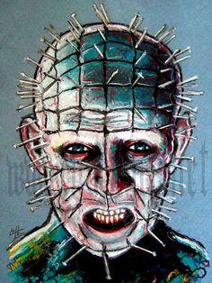 """Print 8x10"""" - Pinhead  - Hellraiser"""