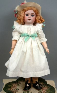 "18"" HANDWERCK KNOWN AS ""DAISY"" ANTIQUE DOLL by SIMON & HALBIG & HANDWERCK"