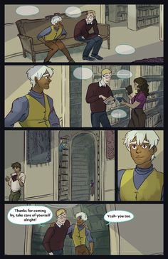 The Kinsey House | webcomic