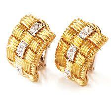 Image result for diamond earrings designs